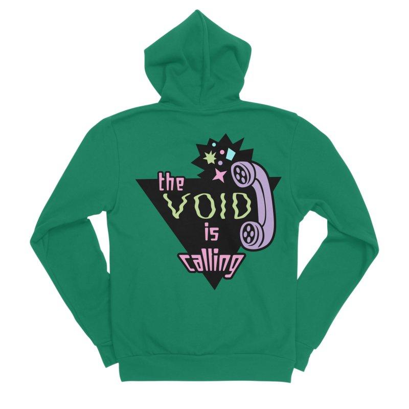 The Void Men's Sponge Fleece Zip-Up Hoody by kathudsonart's Artist Shop