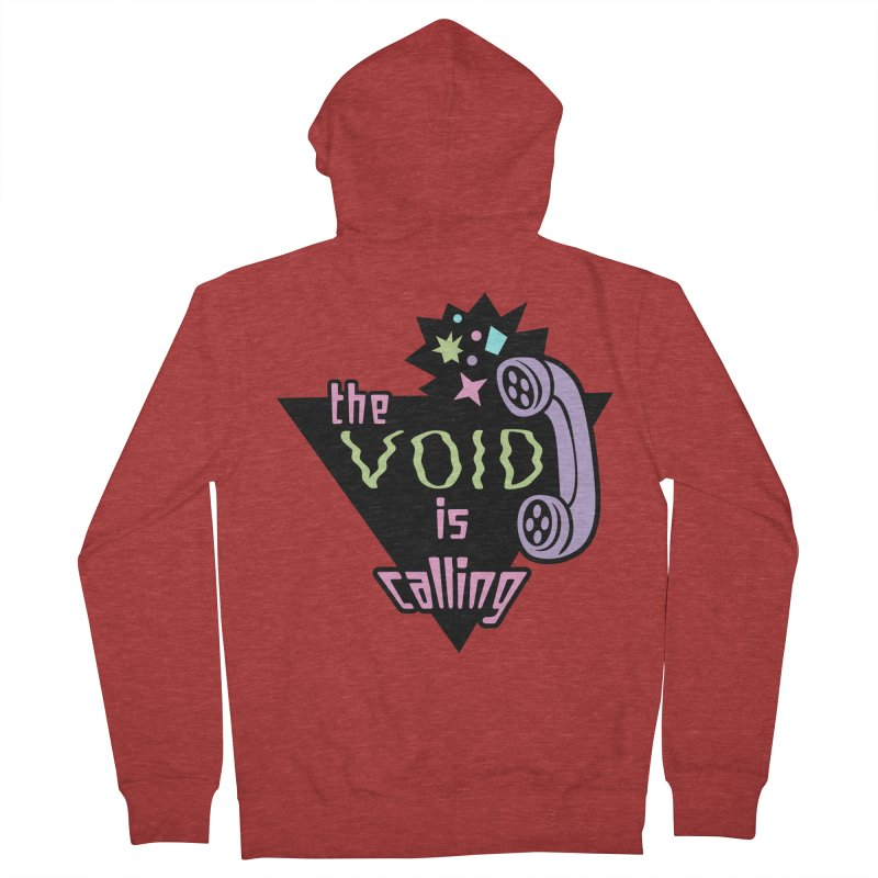 The Void Women's French Terry Zip-Up Hoody by kathudsonart's Artist Shop
