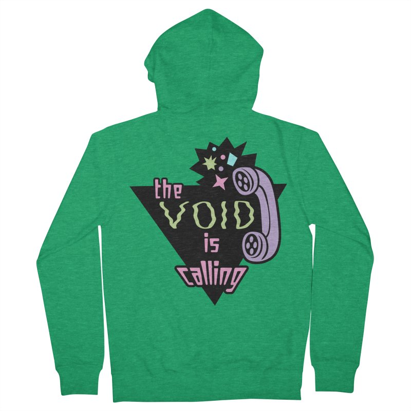 The Void Men's French Terry Zip-Up Hoody by kathudsonart's Artist Shop