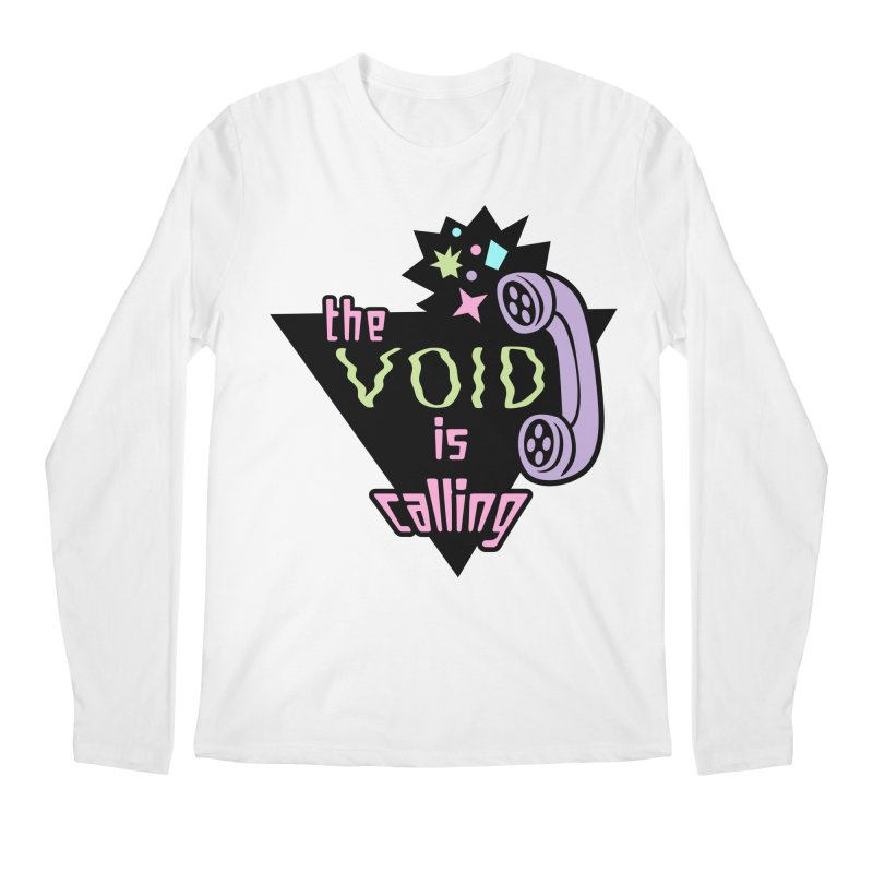 The Void Men's Regular Longsleeve T-Shirt by kathudsonart's Artist Shop