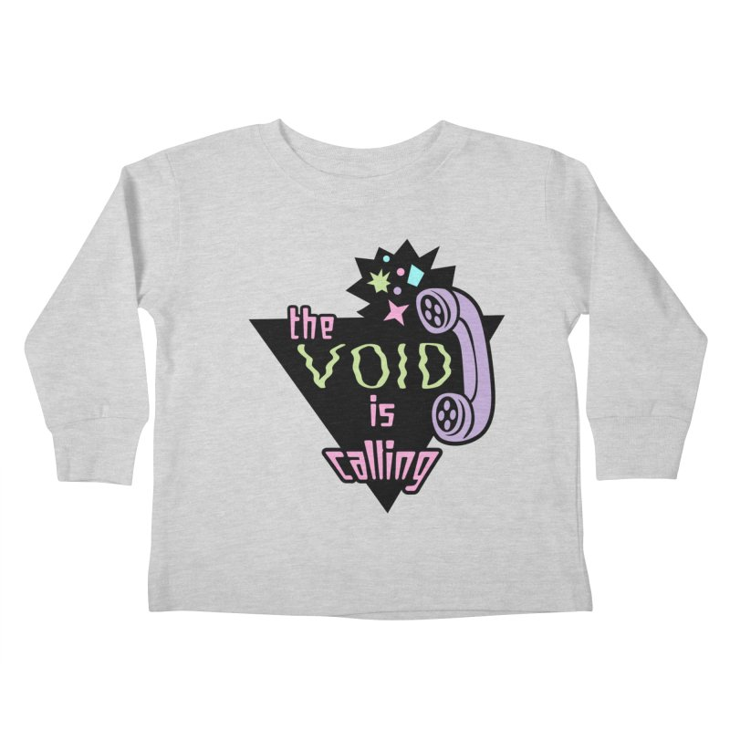 The Void Kids Toddler Longsleeve T-Shirt by kathudsonart's Artist Shop