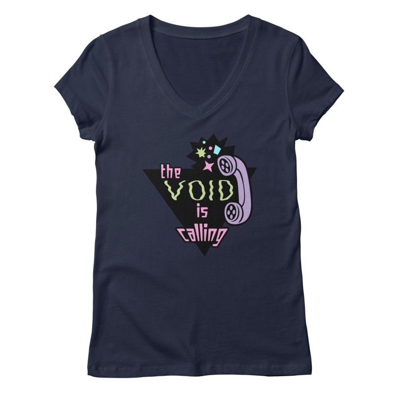 The Void Women's Regular V-Neck by kathudsonart's Artist Shop