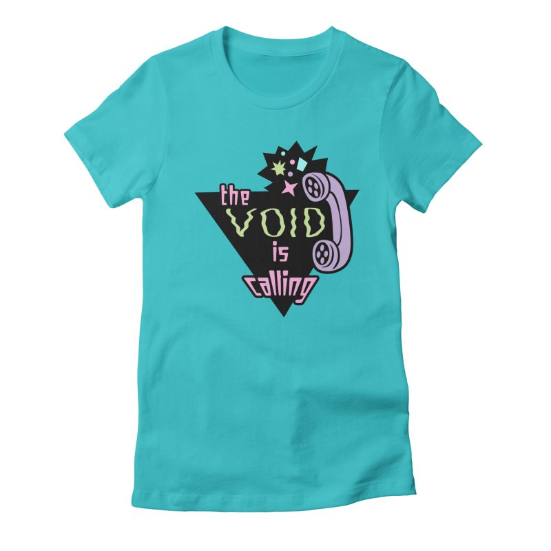 The Void Women's Fitted T-Shirt by kathudsonart's Artist Shop