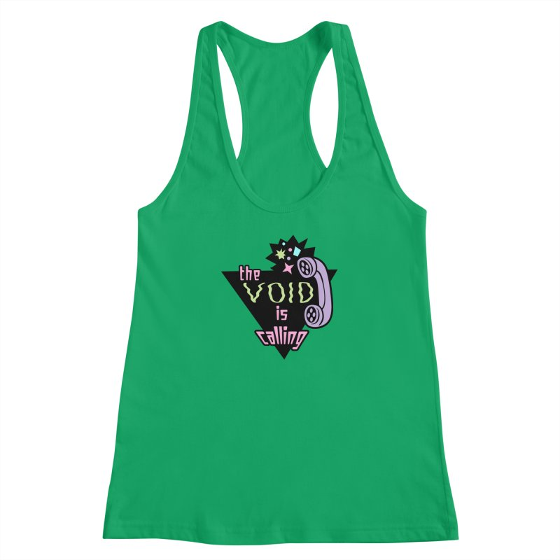 The Void Women's Racerback Tank by kathudsonart's Artist Shop