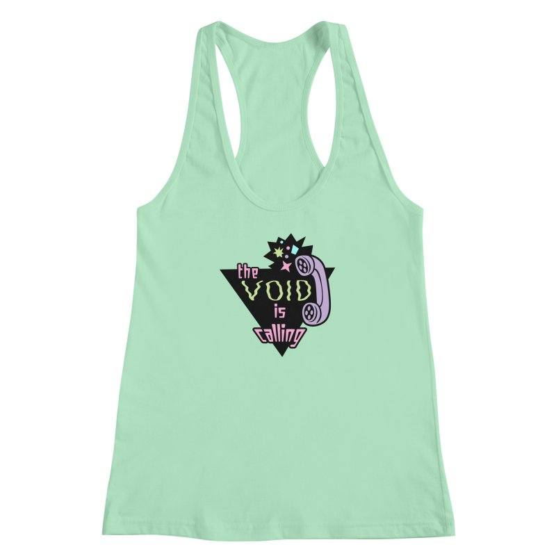 The Void Women's Racerback Tank by kathudsonart's Artist Shop