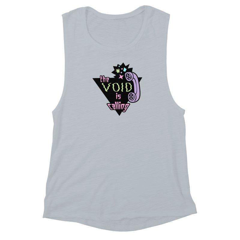 The Void Women's Muscle Tank by kathudsonart's Artist Shop