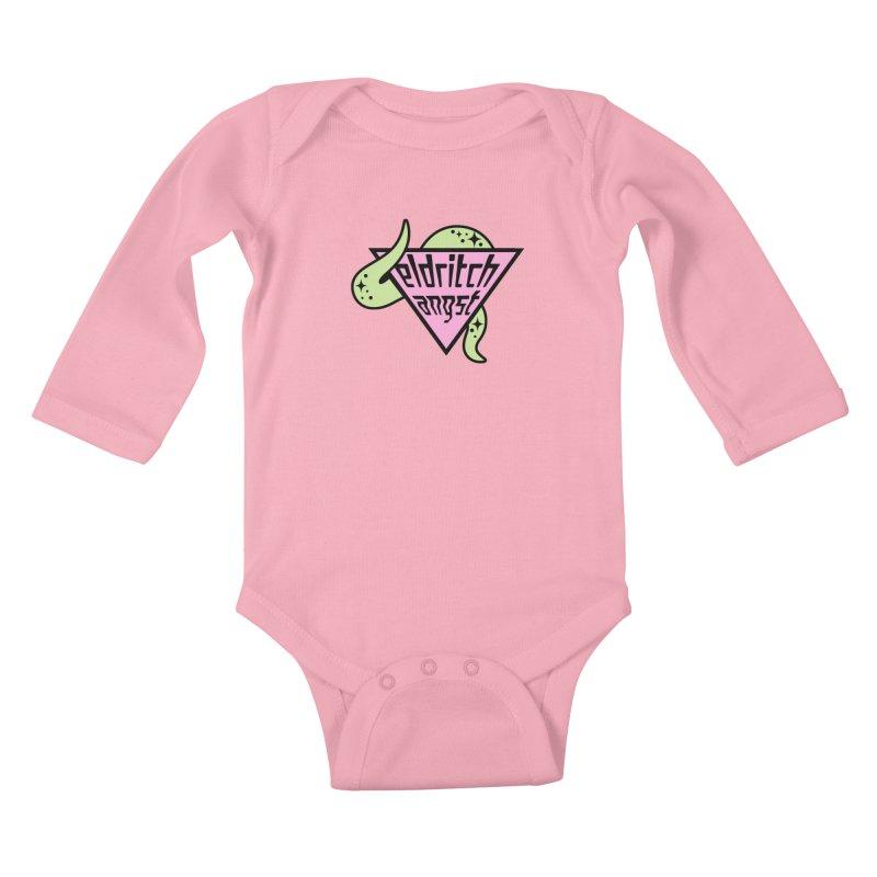Angst Kids Baby Longsleeve Bodysuit by kathudsonart's Artist Shop