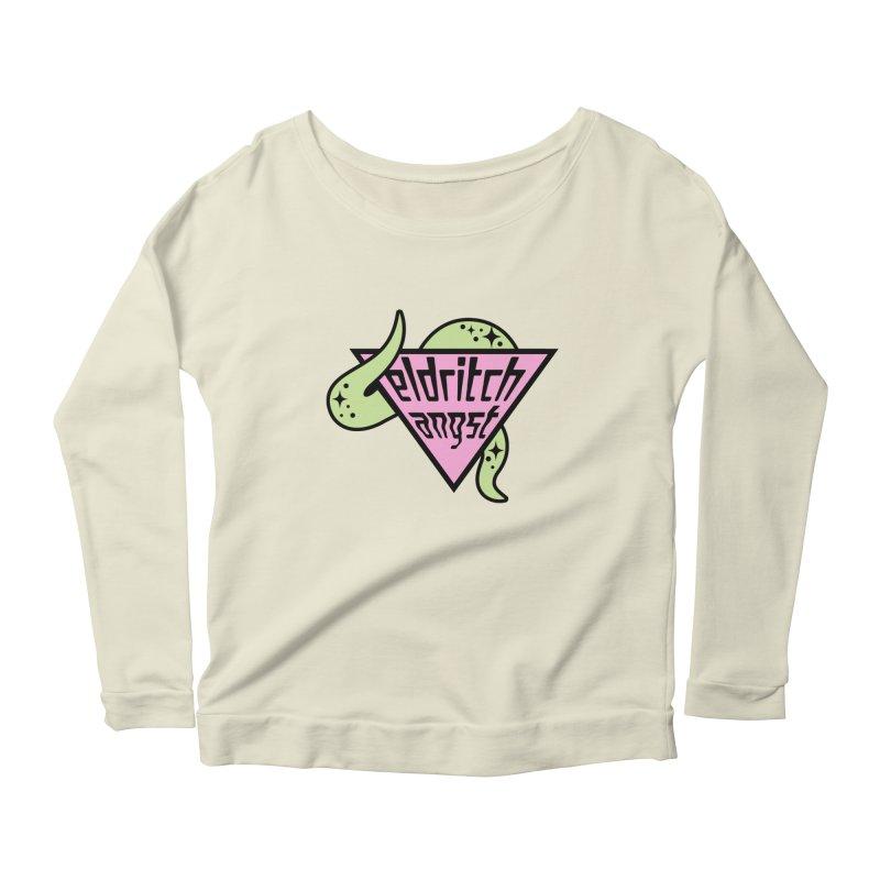 Angst Women's Scoop Neck Longsleeve T-Shirt by kathudsonart's Artist Shop