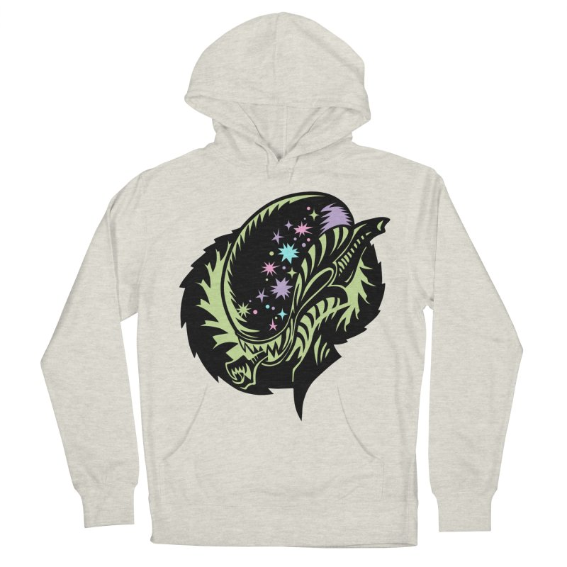 Xeno Women's French Terry Pullover Hoody by kathudsonart's Artist Shop