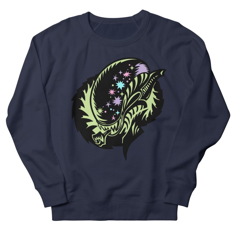 Xeno Men's French Terry Sweatshirt by kathudsonart's Artist Shop