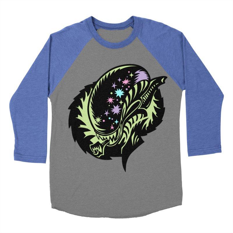 Xeno Women's Baseball Triblend Longsleeve T-Shirt by kathudsonart's Artist Shop