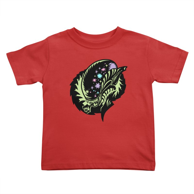 Xeno Kids Toddler T-Shirt by kathudsonart's Artist Shop
