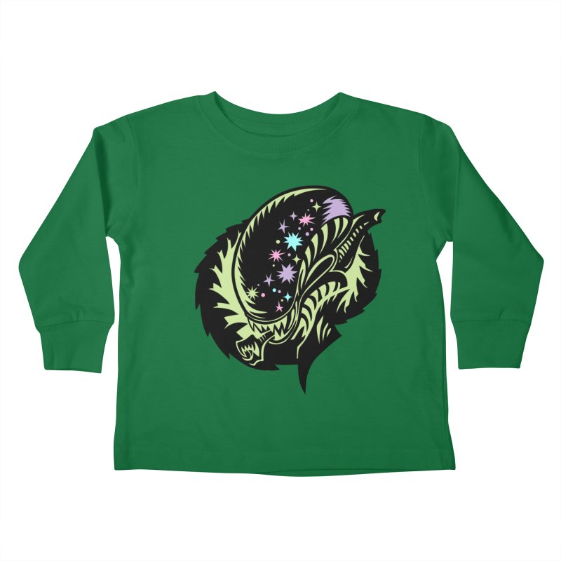 Xeno Kids Toddler Longsleeve T-Shirt by kathudsonart's Artist Shop
