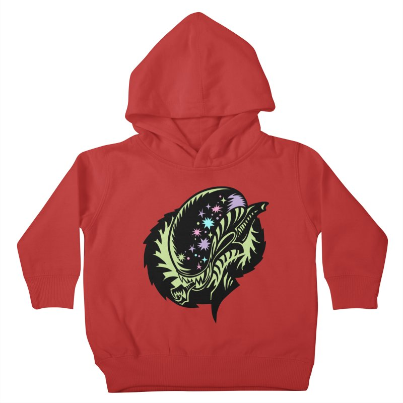 Xeno Kids Toddler Pullover Hoody by kathudsonart's Artist Shop