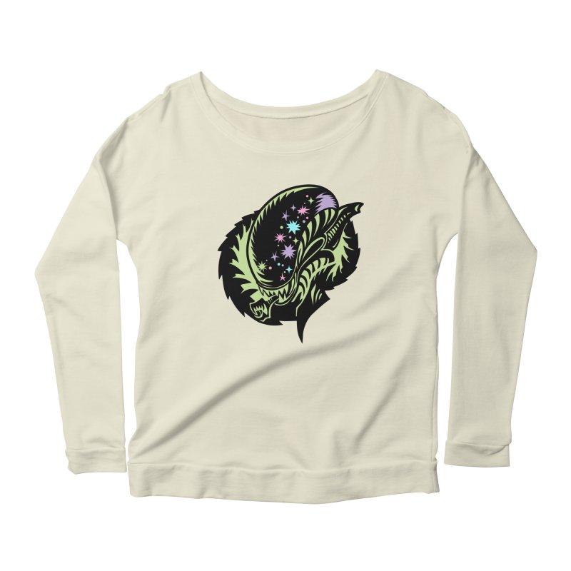 Xeno Women's Scoop Neck Longsleeve T-Shirt by kathudsonart's Artist Shop