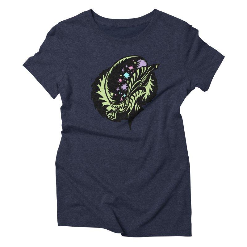 Xeno Women's Triblend T-Shirt by kathudsonart's Artist Shop
