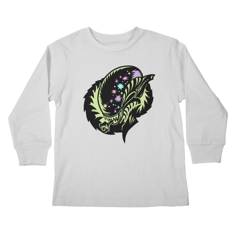 Xeno Kids Longsleeve T-Shirt by kathudsonart's Artist Shop