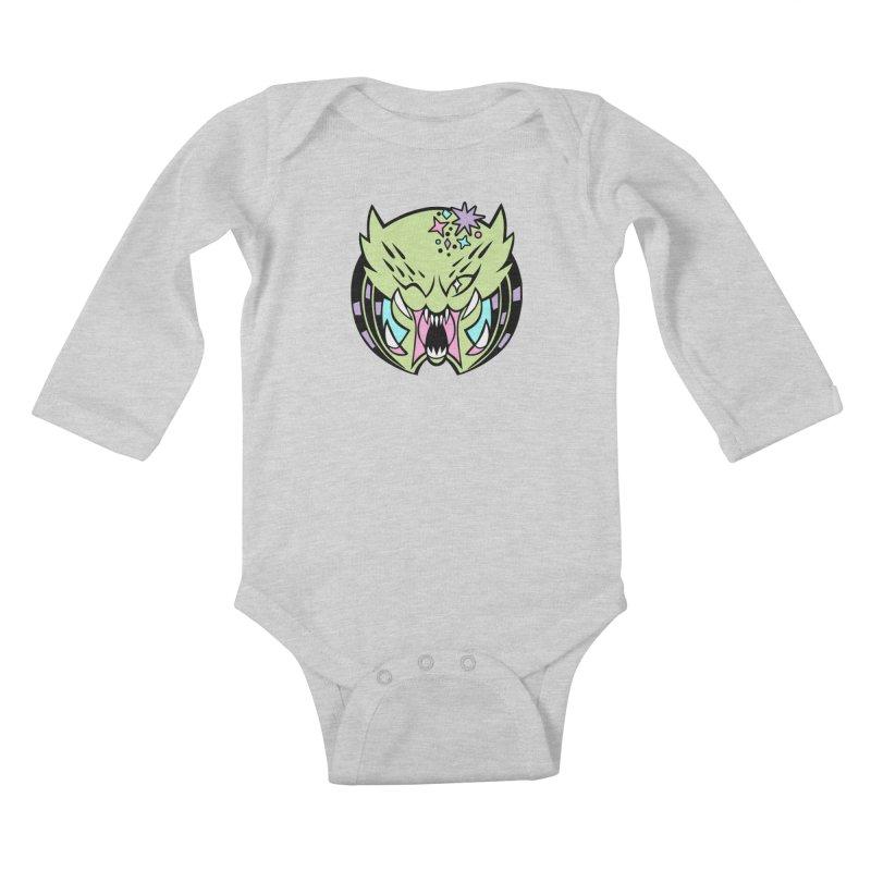 Yautja Kids Baby Longsleeve Bodysuit by kathudsonart's Artist Shop