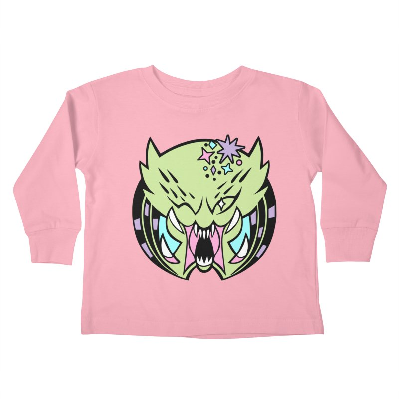 Yautja Kids Toddler Longsleeve T-Shirt by kathudsonart's Artist Shop