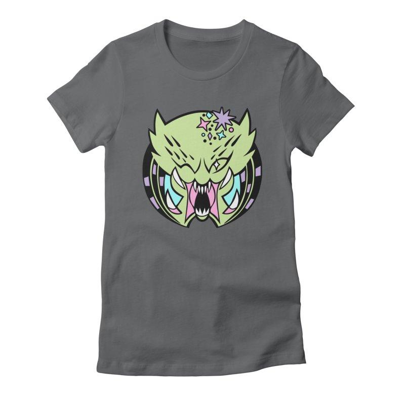 Yautja Women's Fitted T-Shirt by kathudsonart's Artist Shop
