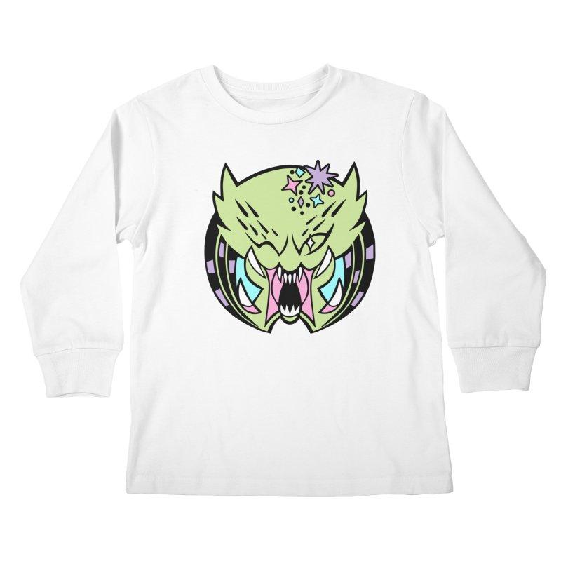 Yautja Kids Longsleeve T-Shirt by kathudsonart's Artist Shop