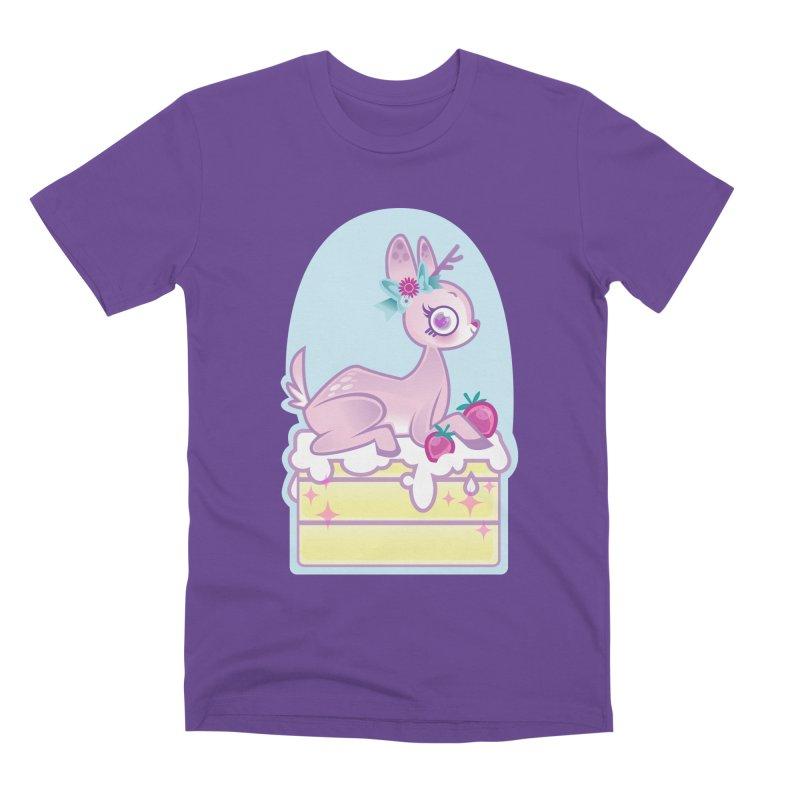 Deery Cake Men's Premium T-Shirt by kathudsonart's Artist Shop