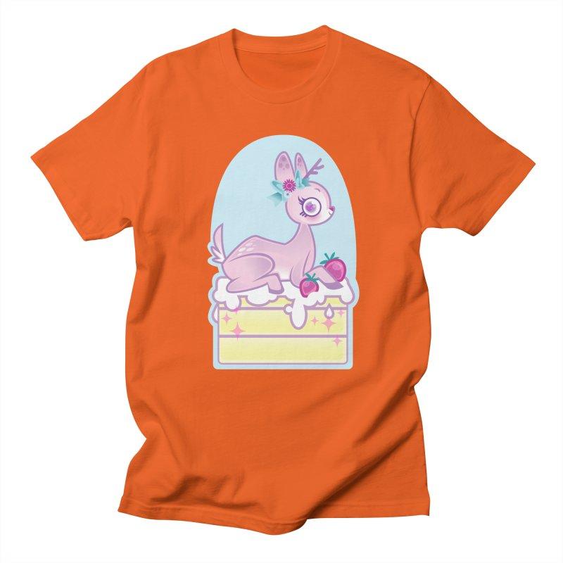 Deery Cake Women's Regular Unisex T-Shirt by kathudsonart's Artist Shop