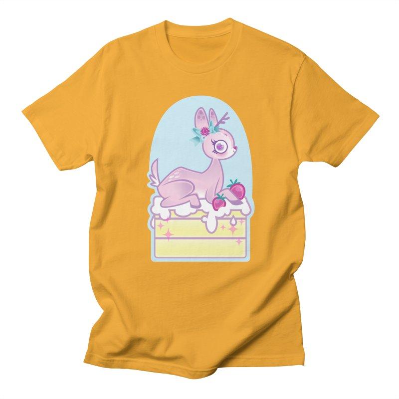 Deery Cake Men's Regular T-Shirt by kathudsonart's Artist Shop