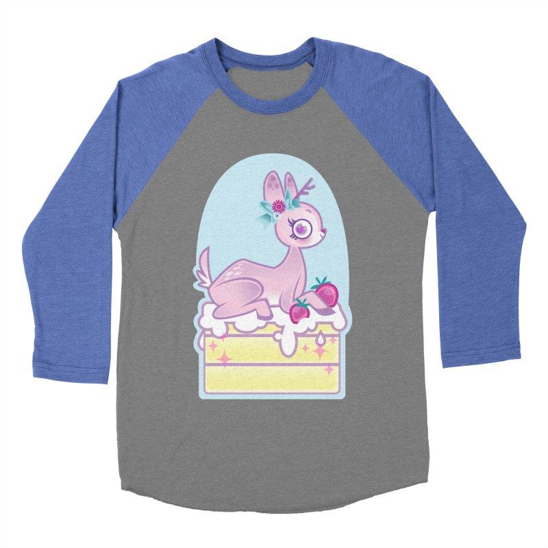 Deery Cake Men's Baseball Triblend Longsleeve T-Shirt by kathudsonart's Artist Shop