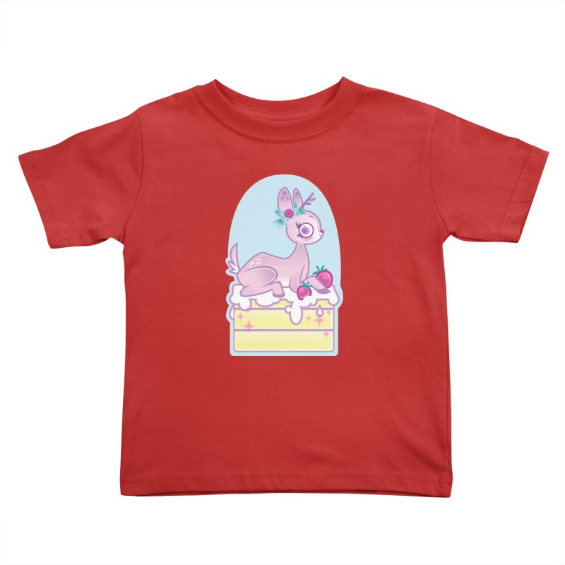 Deery Cake Kids Toddler T-Shirt by kathudsonart's Artist Shop