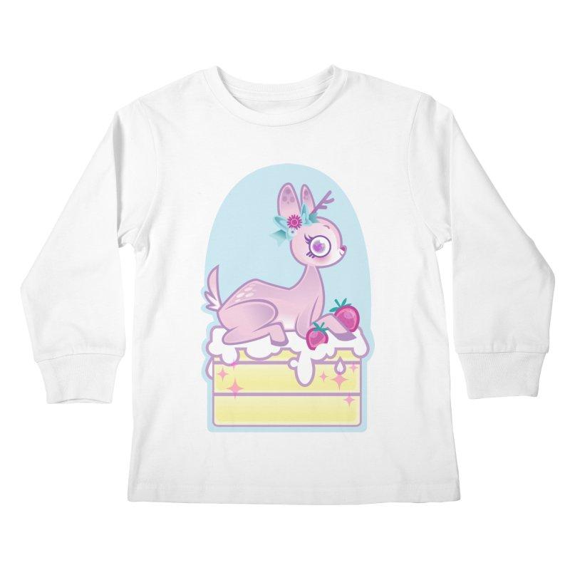 Deery Cake Kids Longsleeve T-Shirt by kathudsonart's Artist Shop