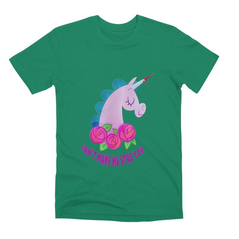 Stabby Men's Premium T-Shirt by kathudsonart's Artist Shop