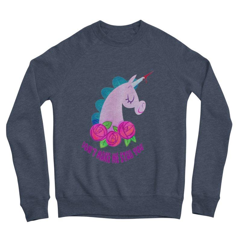 Stabby Women's Sponge Fleece Sweatshirt by kathudsonart's Artist Shop