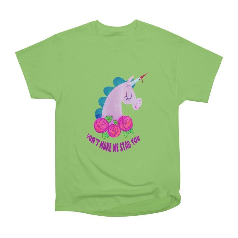 Stabby Men's Heavyweight T-Shirt by kathudsonart's Artist Shop