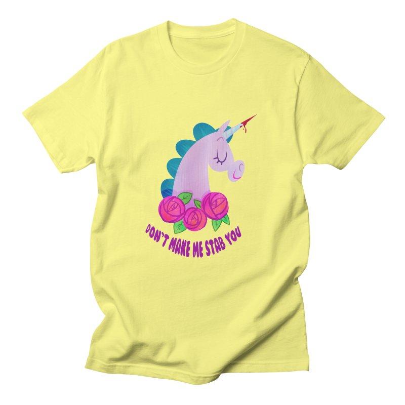 Stabby Men's Regular T-Shirt by kathudsonart's Artist Shop