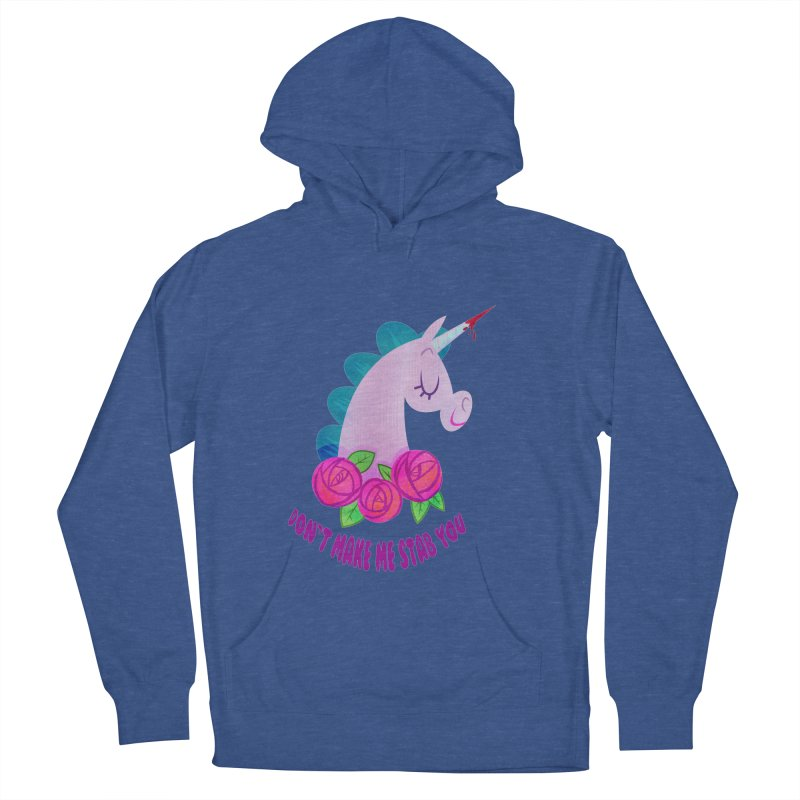 Stabby Women's French Terry Pullover Hoody by kathudsonart's Artist Shop