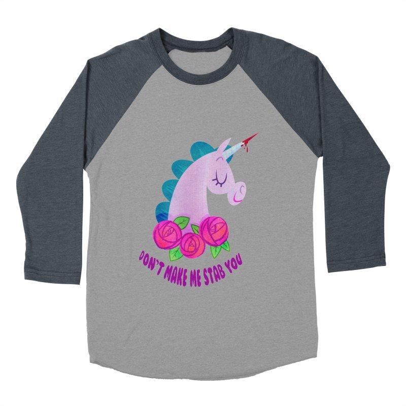 Stabby Women's Baseball Triblend Longsleeve T-Shirt by kathudsonart's Artist Shop