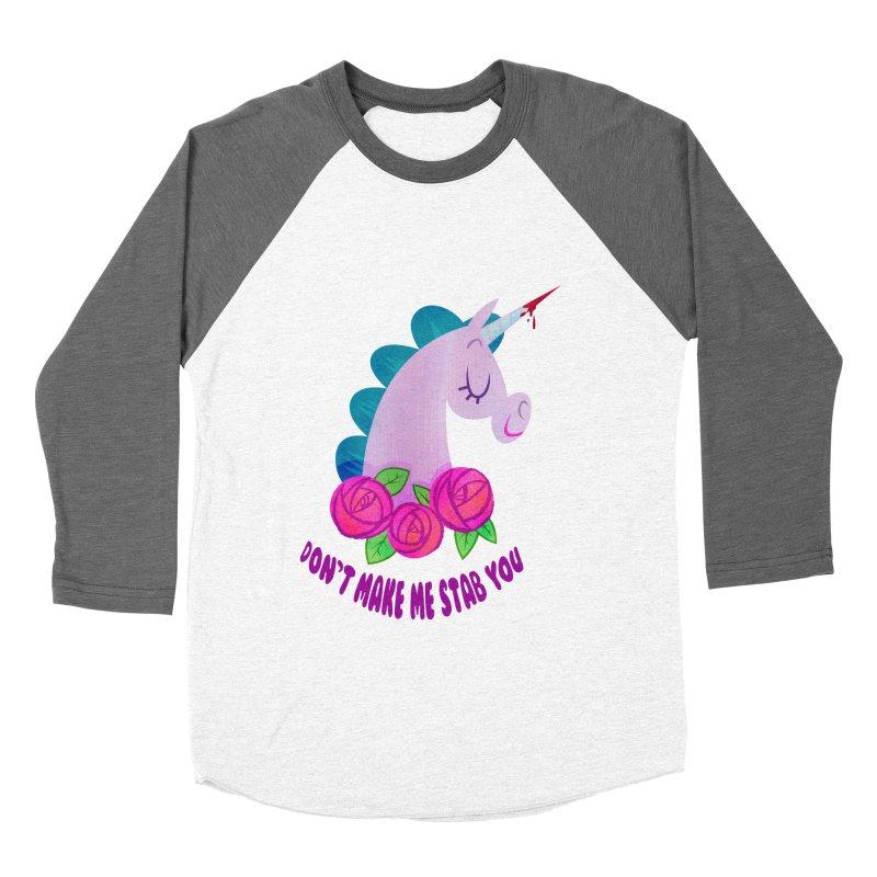 Stabby Men's Baseball Triblend Longsleeve T-Shirt by kathudsonart's Artist Shop