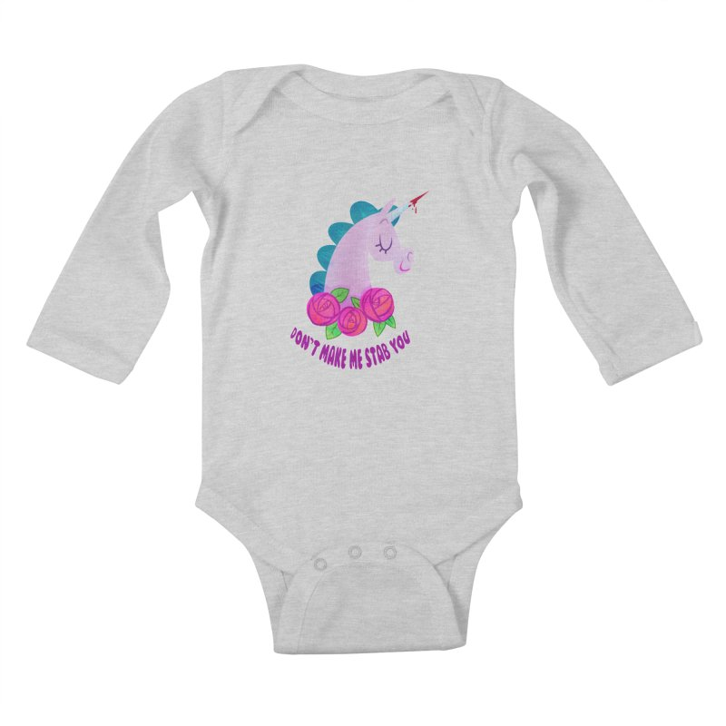 Stabby Kids Baby Longsleeve Bodysuit by kathudsonart's Artist Shop