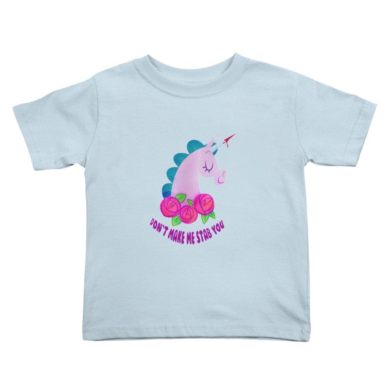 Stabby Kids Toddler T-Shirt by kathudsonart's Artist Shop
