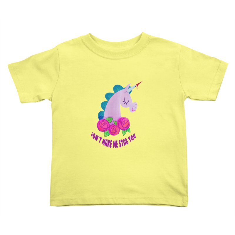 Stabby Kids Toddler T-Shirt by kathudsonart's Artist Shop