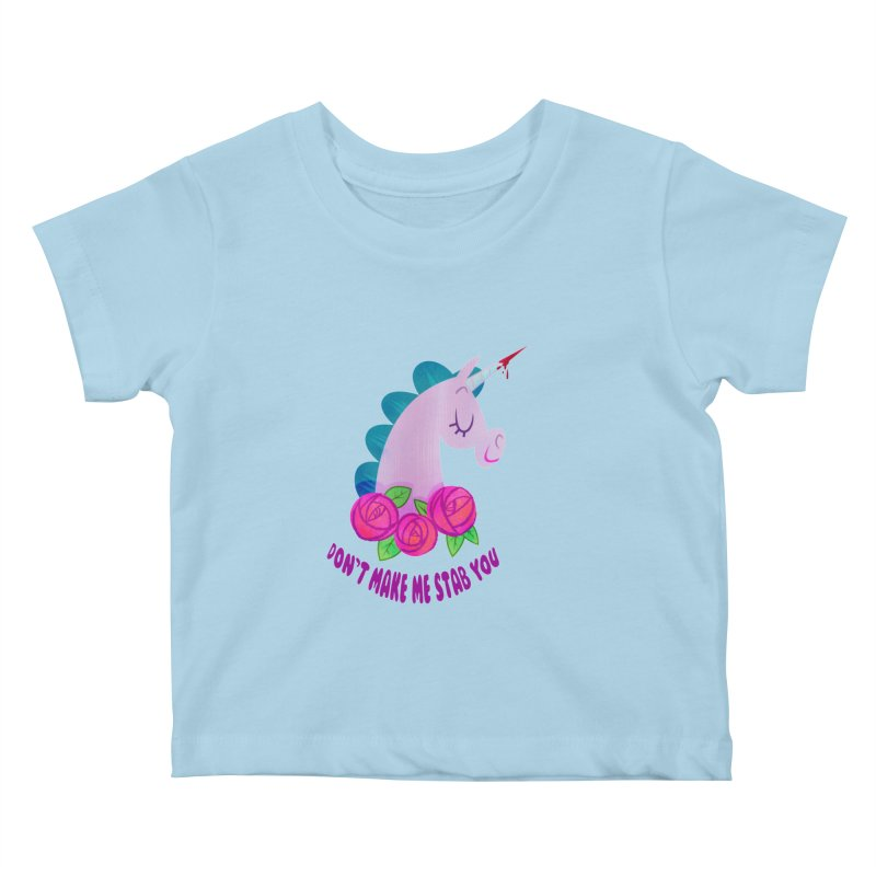 Stabby Kids Baby T-Shirt by kathudsonart's Artist Shop