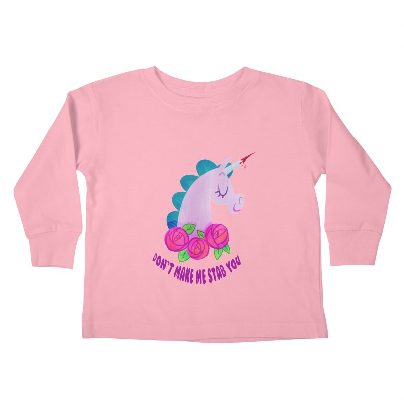 Stabby Kids Toddler Longsleeve T-Shirt by kathudsonart's Artist Shop