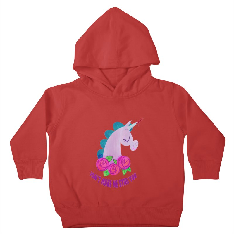 Stabby Kids Toddler Pullover Hoody by kathudsonart's Artist Shop