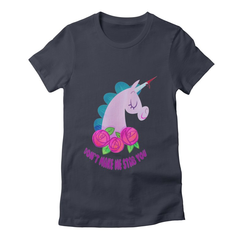 Stabby Women's Fitted T-Shirt by kathudsonart's Artist Shop
