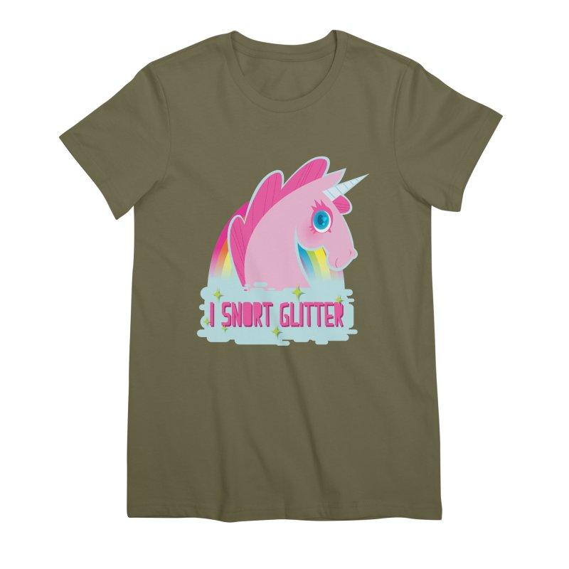 Snort Women's Premium T-Shirt by kathudsonart's Artist Shop