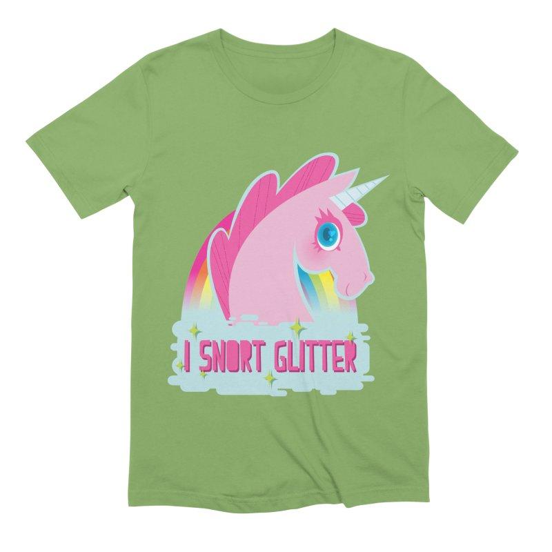 Snort Men's Extra Soft T-Shirt by kathudsonart's Artist Shop