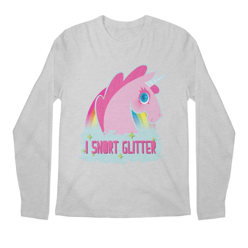 Snort Men's Regular Longsleeve T-Shirt by kathudsonart's Artist Shop