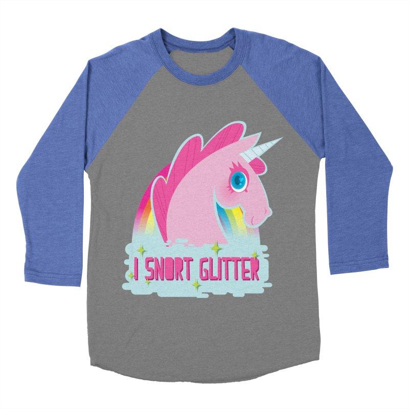 Snort Women's Baseball Triblend Longsleeve T-Shirt by kathudsonart's Artist Shop