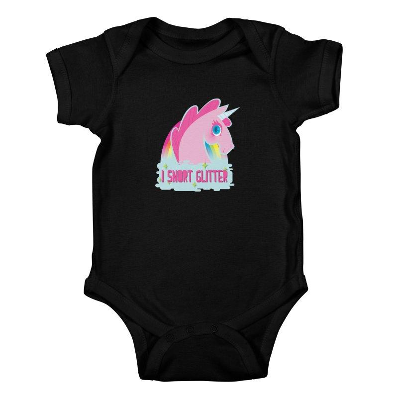 Snort Kids Baby Bodysuit by kathudsonart's Artist Shop